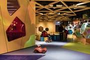 Das Kinderland Kaleidoskop in der Mall of Switzerland erstreckt sich über 1500 Quadratmeter. (Bild: PPR/Manuel Lopez)