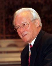 Jakob Schönenberger, 1931 bis 2018. (Archivbild: Keystone)