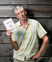 Andreas Pfister möchte mit seinem Buch dem «Geissenpeter-Syndrom» entegenwirken. (Bild: Stefan Kaiser (Zug, 31. Juli 2018))