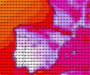 Modellierte Höchsttemperatur für Samstag, 4. August 2018 nach dem amerikanischen GFS-Modell. (Grafik: PD/Meteonews AG)