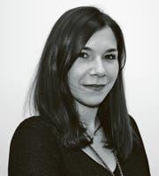 Sportredaktorin Céline Feller.