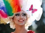Schwuler Stolz in Jerusalem an der Gay Pride Parade. (Bild: KEYSTONE/EPA/ABIR SULTAN)