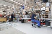 Der V-Zug-Produktionsstandort in Zug. (Bild: Stefan Kaiser)