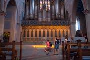 Ein Ort der Einkehr inmitten des ausschweifenden Festtreibens: die Kirche St.Laurenzen.