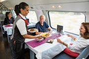 The SBB's new double-deck dining car was on trial last week. (Image: Gian Vatil / SBB, August 17, 2018)