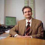 Richard Eisler, Gründer und Präsident des Internetvergleichsdienstes comparis.ch, (Bild: Gaetan Bally/Keystone (Zürich, 2. November 2010))