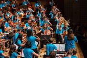Nach dem ersten Auftritt des Orchestercamps im Rahmen des Lucerne Festival stellt sich die Frage: Sollten Luzerner Schulen vermehrt auf Gruppenunterricht setzen? (Bild: Patrick Hürlimann, 18. August 2018)