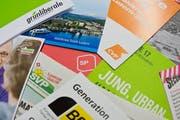 Luzerner Wahlunterlagen aus dem Jahr 2015. (Bild: Dominik Wunderli, 1. März 2015)