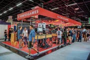 The Swiss is in the Gamescom business area. Picture: Julia Malcher / Pro Helvetia (Cologne, 21 August 2018)