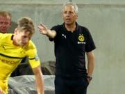 Trainer Lucien Favre weist Borussia Dortmund den Weg (Bild: KEYSTONE/dpa/DANIEL KARMANN)