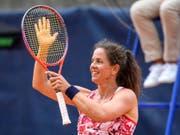 Patty Schnyder übersteht die Qualifikation am US Open (Bild: KEYSTONE/ANTHONY ANEX)