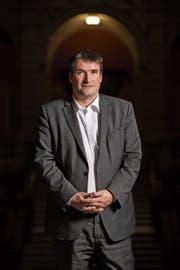 «Nicht akzeptabel»: SP-Präsident Christian Levrat verurteilt Drohungen gegen SP-Frauen. (Bild: Severin Bigler (Bern, 31. Januar 2018))