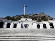 Francos Grab ist eine Pilgerstätte für die Rechten im Land. (Bild: Keystone/EPA/MARISCAL)
