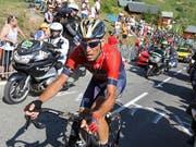 Vincenzo Nibali ist einer der Siegkandidaten der diesjährigen Vuelta (Bild: KEYSTONE/AP/PETER DEJONG)