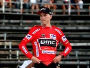 Rohan Dennis - der erste Leader der 73. Vuelta (Bild: KEYSTONE/EPA/SEBASTIEN NOGIER)