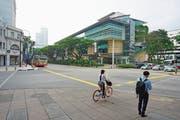 Die Singapur Management University ist ein wichtiger Partner der HSG. (Bild: Alamy (Singapur, 14. Dezember 2017))