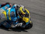 Lichtblick in einer schwierigen MotoGP-Saison: Tom Lüthi (Bild: KEYSTONE/EPA/MARTIN DIVISEK)