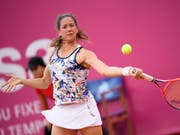 Patty Schnyder steht am US Open im Alter von 39 Jahren zum Auftakt noch einmal im Rampenlicht (Bild: KEYSTONE/ANTHONY ANEX)