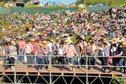 Countrymusik war bisher das Aushängeschild des Open Airs auf der Klewenalp. (Bild: Adrian Venetz, 16. Juli 2016)