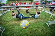 Die Alternative zum Grümpelturnier: Body Soccer in Buch bei Frauenfeld.