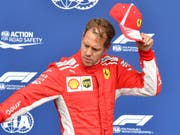 Hut ab für Sebastian Vettel. Der Deutsche war in Belgien hoch überlegen (Bild: KEYSTONE/AP/GEERT VANDEN WIJNGAERT)