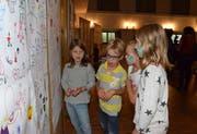 Die Kinder hatten nicht nur Spass beim Lesen, sondern auch beim Malen und Zeichnen. (Bild: Christoph Heer)