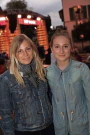 Julia und Lena Good aus Bischofszell.
