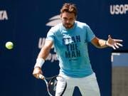 Stan Wawrinka hat sich für das US Open in New York einiges vorgenommen (Bild: KEYSTONE/EPA/JASON SZENES)