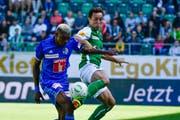 Obwohl St.Gallen gegen Luzern die angriffsfreudigere Mannschaft war, blieb das Team um Trainer Peter Zeidler zum zweiten Mal in Folge ohne Torerfolg. (Bild: Freshfocus)