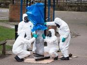 Die USA haben neue Sanktionen gegen Russland im Zusammenhang mit dem Giftanschlag gegen den Doppelagenten Skripal und dessen Tochter in Kraft gesetzt. (Bild: KEYSTONE/EPA/WILL OLIVER)