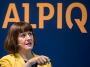 Stabiler Umsatz, aber rote Zahlen: Alpiq-Chefin Jasmin Staiblin sieht trotz Verlust im ersten Halbjahr ihr Unternehmen auf Kurs. (Bild: KEYSTONE/ALEXANDRA WEY)