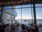 Das Bürgenstock Resort Lake Lucerne wurde im vergangenen September eröffnet, nun ist es GaultMillaus Hotel des Jahres 2019. (Bild: KEYSTONE/URS FLUEELER)