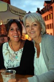 Nadja Achermann aus Bischofszell und Monika Gerber aus Oberhofen.