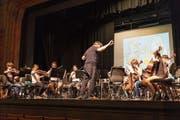 Urner Musikschüler beim Proben für das Ensemblekonzert im Mai 2019. (Bild: PD)