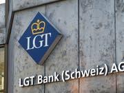 Die Fürstenbank LGT ist gut unterwegs und hat ihre Zahlen im ersten Halbjahr 2018 deutlich gesteigert. (Bild: KEYSTONE/THOMAS DELLEY)
