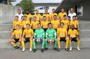 Mit dieser Mannschaft will sich der FC Wattwil Bunt 1929 in der 2. Liga behaupten. (Bild: Beat Lanzendorfer)