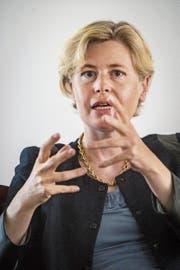 «Es ist zu früh, von konkreten Namen zu sprechen»: Esther Friedli, SVP-Parteisekretärin. (Bild: Benjamin Manser)