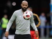 Thierry Henry wird doch nicht Trainer von Bordeaux (Bild: KEYSTONE/AP/PETR DAVID JOSEK)