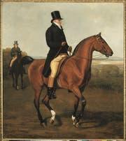 Das Bild «Lord Heathfield» des Künstlers Jacques Laurent Agasse. (Bild: Kunstmuseum Luzern, Eigentum der Schweizerischen Eidgenossenschaft, Gottfried Keller-Stiftung, Bern)
