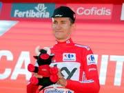 Michal Kwiatkowski - weiterhin Leader der Vuelta (Bild: KEYSTONE/EPA EFE/MANUEL BRUQUE)