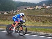 Sébastien Reichenbach fährt auch im kommenden Jahr in Blau-Weiss (Bild: KEYSTONE/JEAN-CHRISTOPHE BOTT)