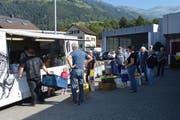 Gift soll, wie hier in Altdorf, korrekt entsorgt werden. (Bild: Remo Infanger (Altdorf, 26. September 2016)