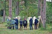 Der Wald als grossartiger Raum für die seelische und körperliche Gesundheit und Erholung wurde durch Begehungen und Informationen zum Erlebnis gemacht. (Bild: PD)