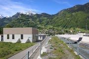 Beim Kraftwerk Schächen kann am 27. September 2018 der Spatenstich gefeiert werden. (Bild: PD)