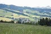 Schon bald feiert dieses Ausserrhoder Dorf den 300. Geburtstag. Seit 1720 ist Schönengrund eigenständig. (Bild: Bruno Eisenhut)