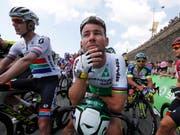 Für Mark Cavendish ist auch diese Saison wohl vorzeitig zu Ende (Bild: KEYSTONE/EPA/SEBASTIEN NOGIER)