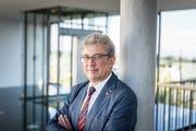 Der Mörschwiler Gemeindepräsident Paul Bühler. (Bild: Michel Canonica, 30. September 2016)