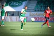Stjepan Kukuruzovic spielt nicht mehr für den FC St. Gallen. (Bild: Ralph Ribi)