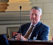 SVP-Kantonsrat Karl Güntzel. (Bild: Regina Kühne - 13. Juni 2017)