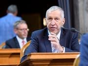 Konrad Graber will weder Bundesrat werden noch im Ständerat bleiben. Nach fast 40 Jahren verabschiedet er sich im Herbst aus der Politik. (Bild: KEYSTONE/ANTHONY ANEX)